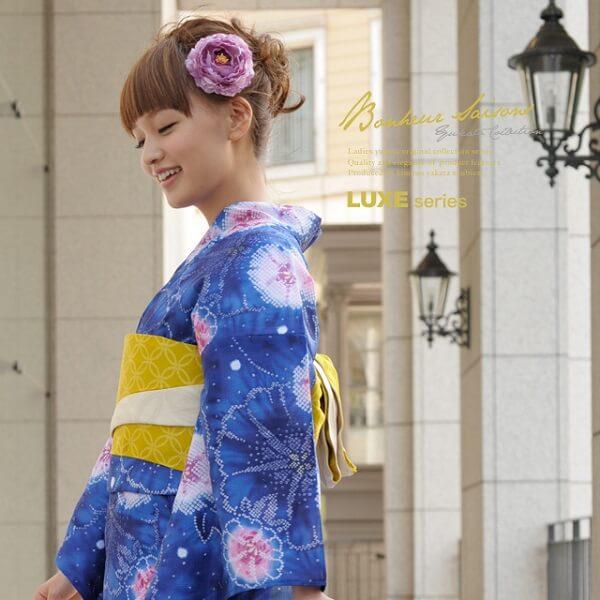 レディースの浴衣ブランド2019|レトロが人気?