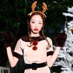 クリスマスはトナカイコスプレが人気!セクシーでキュートなクリスマスのトナカイコスプレ衣装
