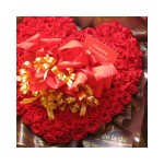 クリスマスはバラの花束をプレゼント!バラの花束を花言葉と一緒に紹介