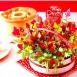 母の日にプレゼントするスイーツギフト!花とセットのスイーツが母の日は人気