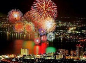 淀川花火大会が見れる景色