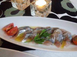 カルパッチョ|秋刀魚とワインのマリアージュ