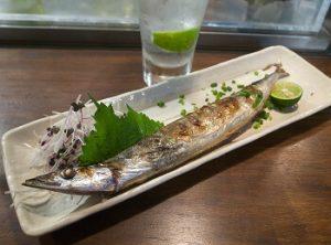 塩焼き|秋刀魚とワインのマリアージュ