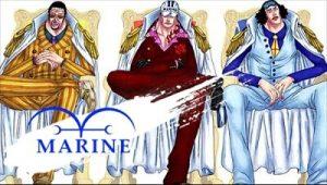 海軍三大将|ハロウィンのONE PIECEの仮装