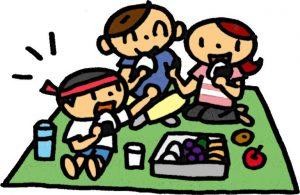 運動会で子供と食べるお弁当