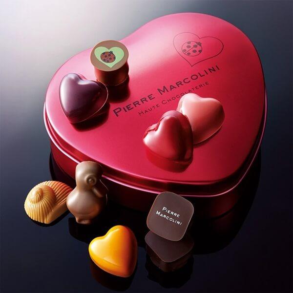 バレンタインにピエールマルコリーニの高級チョコをプレゼント特集