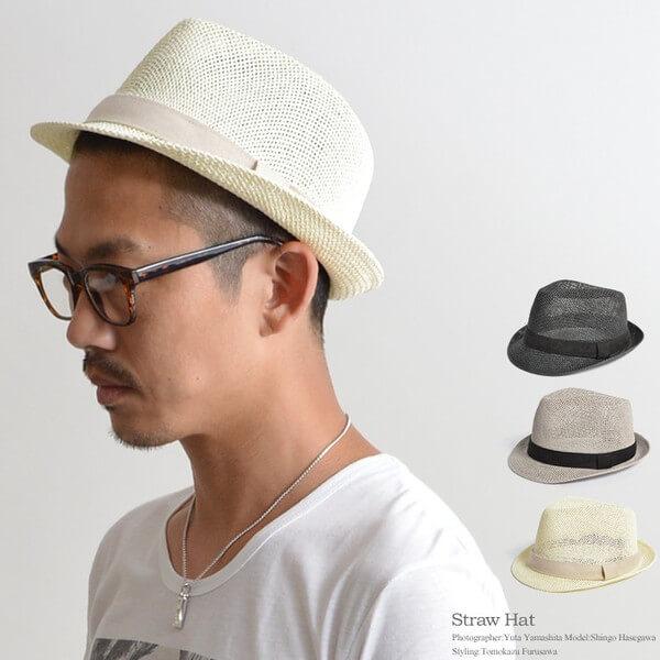 メンズに人気の麦わら帽子|中折れハットや麦わら帽子の種類・コーデを紹介!