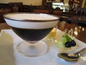 カフェバッハのコーヒーゼリー