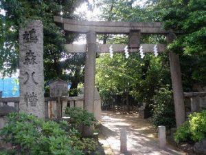 鳩森八幡神社|神宮外苑花火大会の穴場スポット