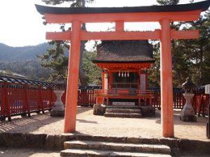 清盛神社|宮島水中花火大会の穴場スポット