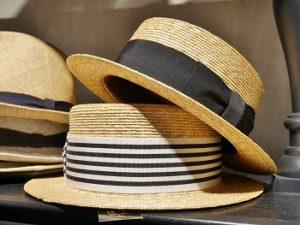 夏のメンズコーデに似合うカンカン帽