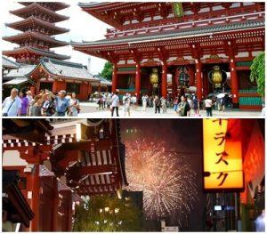 隅田川花火が見えるスポット|浅草寺