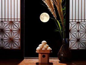 十五夜のお月見|お供えの品の並べ方