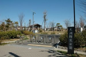 江戸川区花火大会の穴場スポット|大洲防災公園