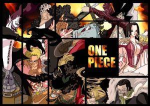 ONE PIECEの王下七武海