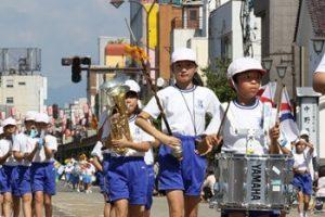 鼓笛隊パレード|会津まつりのイベント