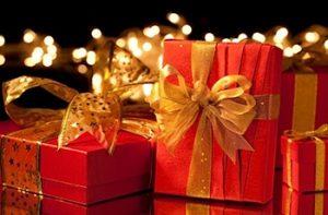 クリスマスプレゼントのボックス