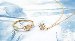 クリスマスに彼女に、指輪とネックレスをプレゼント