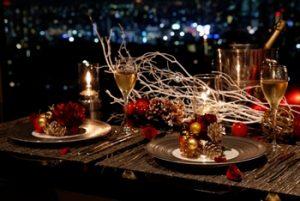 渋谷でクリスマスディナー