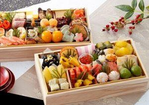 おせち料理と日本酒