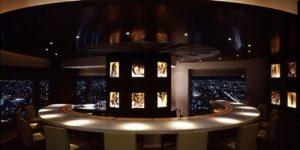 渋谷のホテルでクリスマスディナー