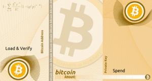 仮想通貨のペーパーウォレット