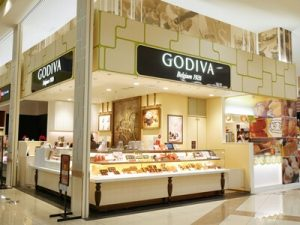 ゴディバの店舗