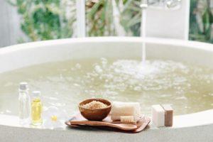 バスタブと入浴剤