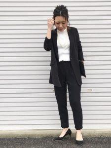 入学式のパンツスーツ