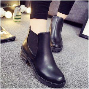 雨の日のブーツ