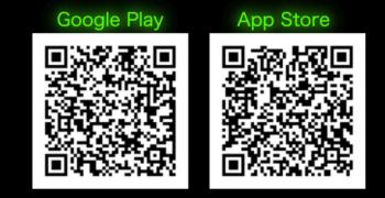カワハロ公式アプリ QRコード