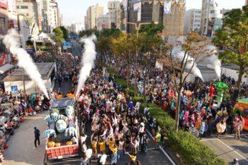 カワサキハロウィン パレードの様子