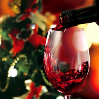 ワイン&クリスマスツリー