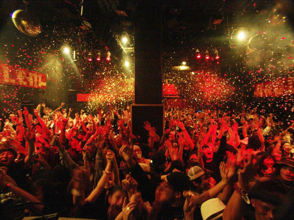 カウントダウン(渋谷)クラブイベント2019→2020|人気のクラブ6選!