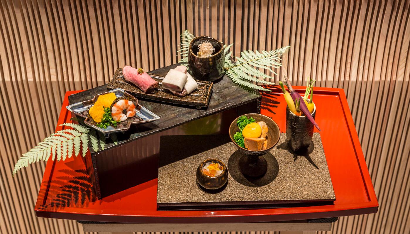 日本料理・ひのきざか 料理