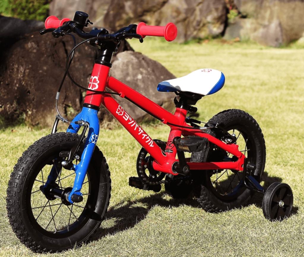 2才用の補助輪付き自転車