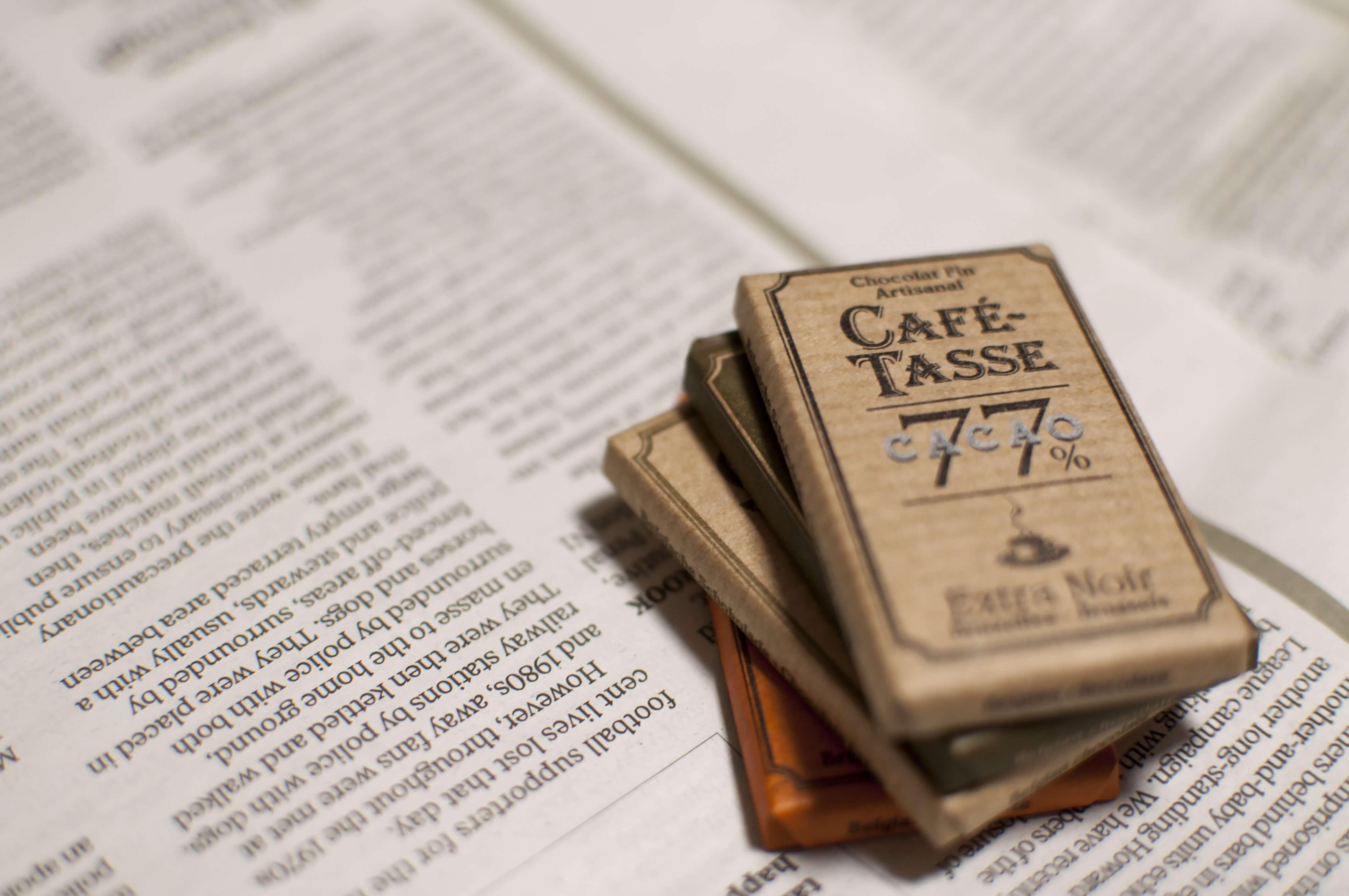 カフェタッセのチョコ