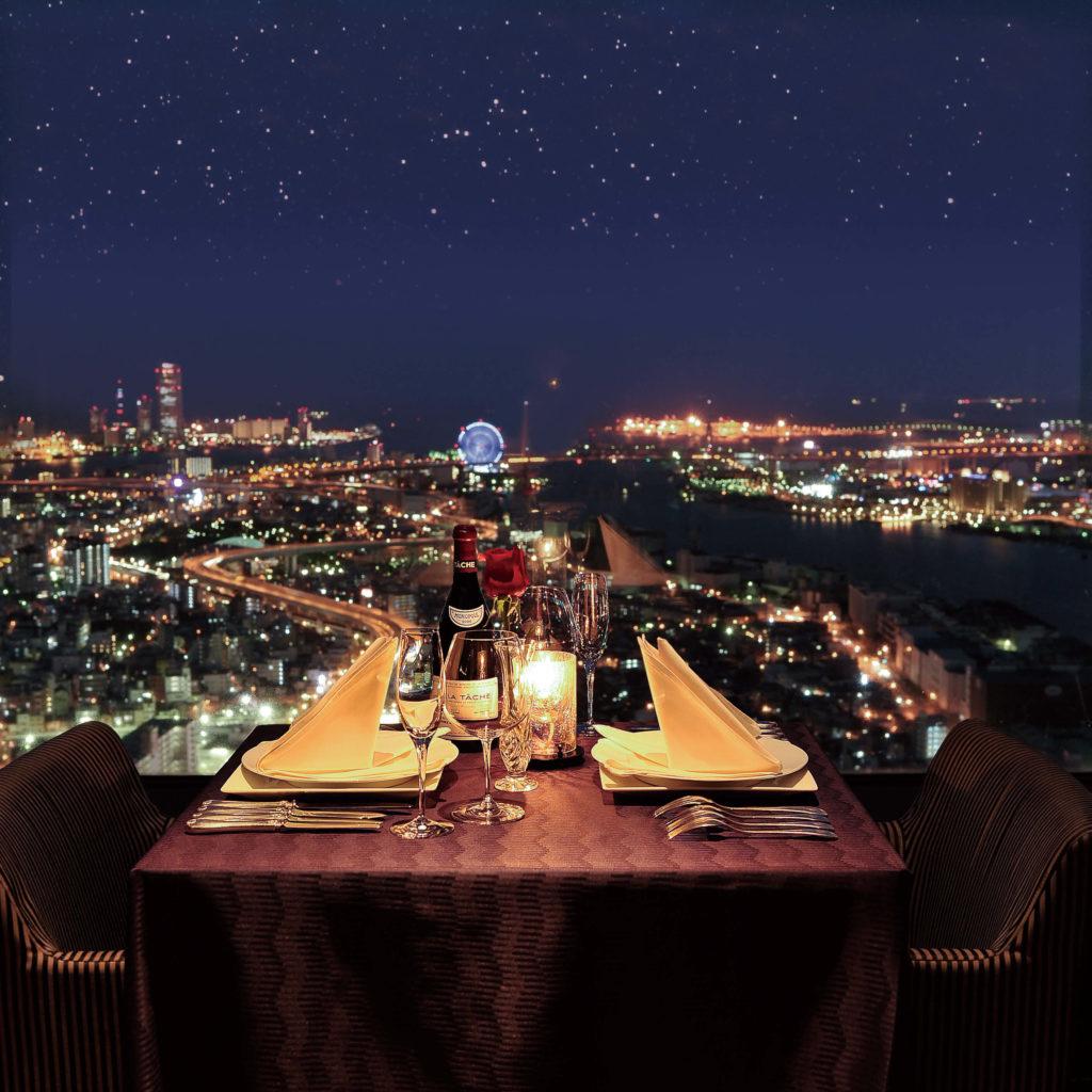 バレンタインに大阪のホテルディナー5選|夜景が見えるレストランがおすすめ!