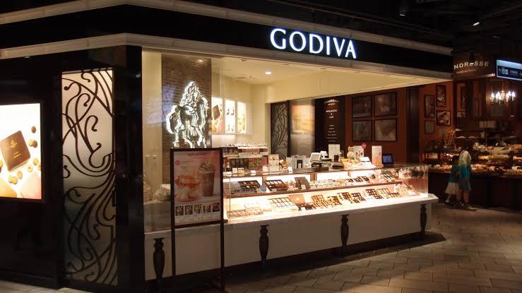 ゴディバ お店