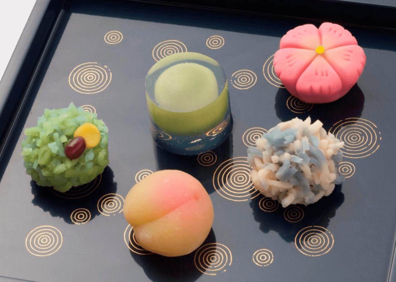 おしゃれな和菓子