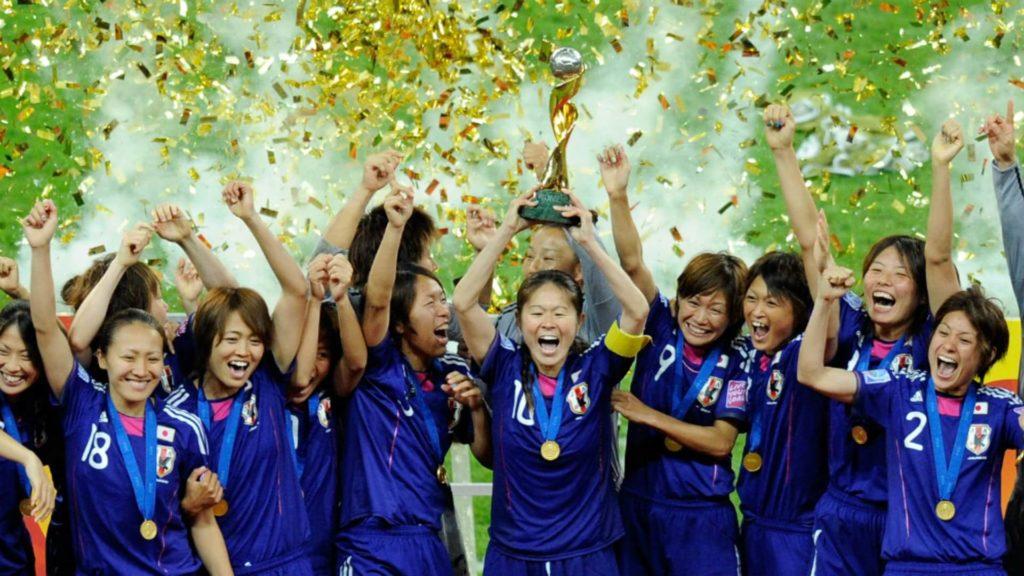 なでしこジャパン2011W杯優勝