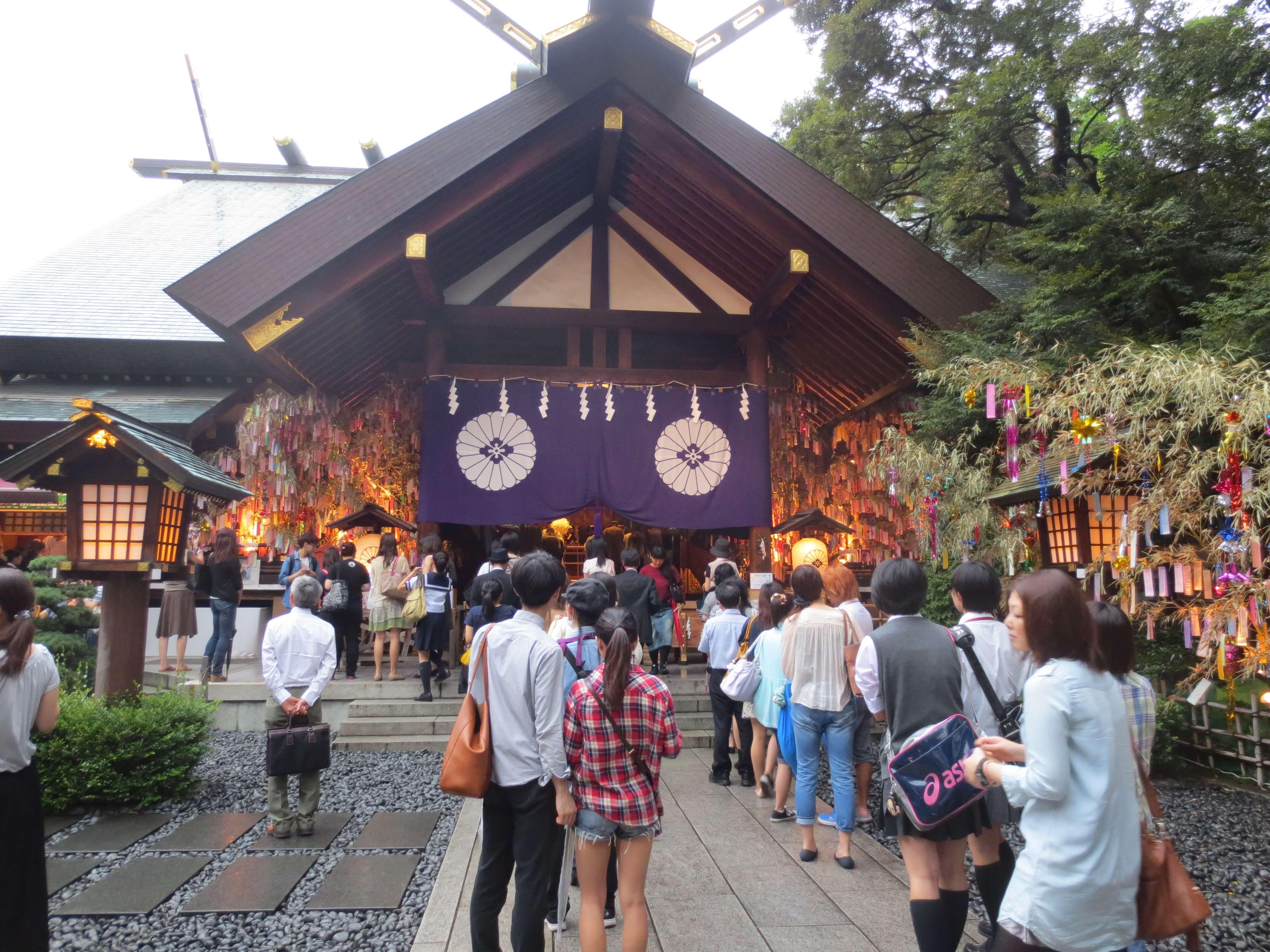 東京大明神の様子